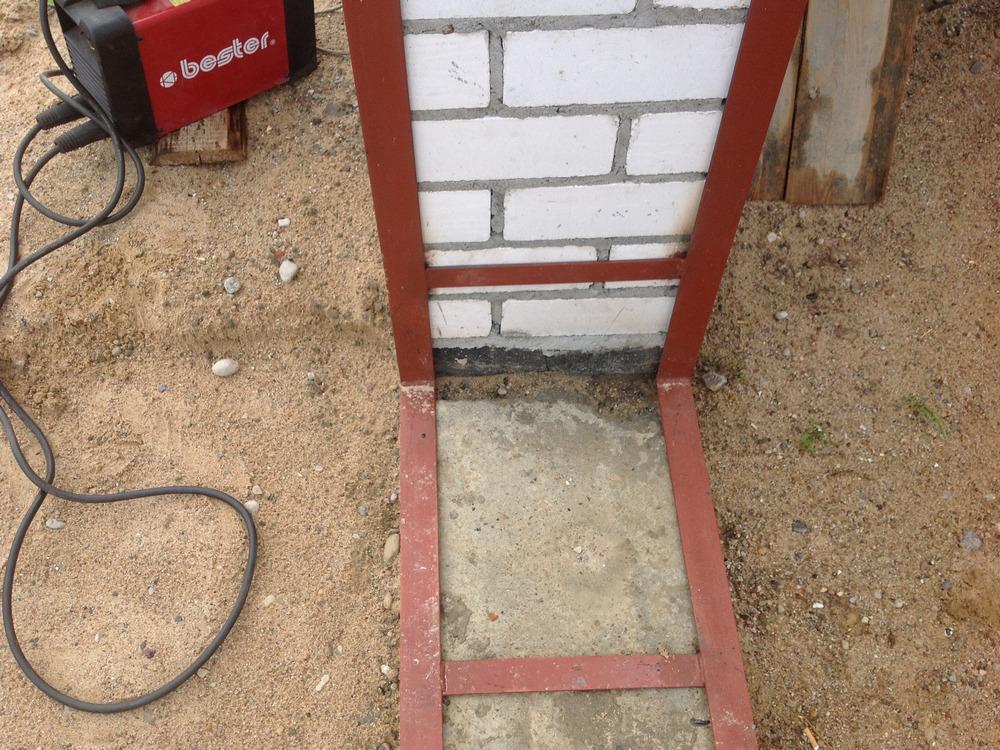 Как сделать угол у гаража